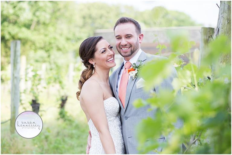 Rustic Chic wedding at Laurita Winery