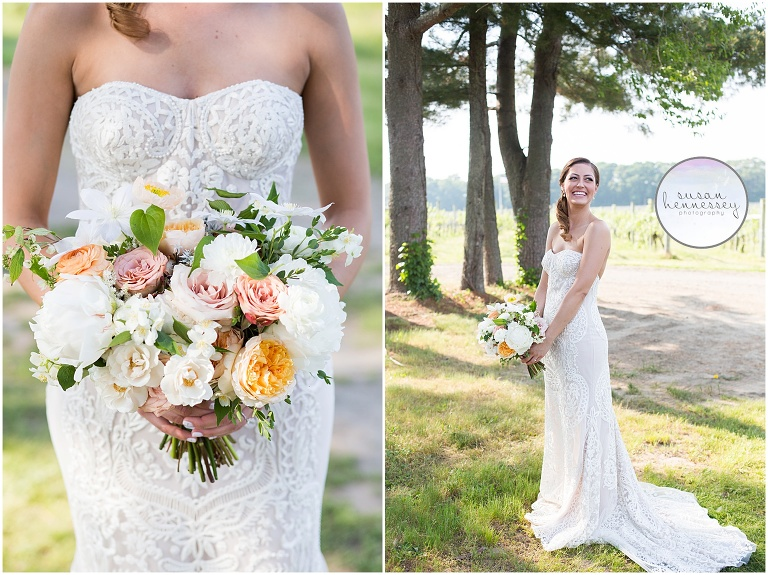 Rustic bouquet from Wild Stems at Laurita Winery