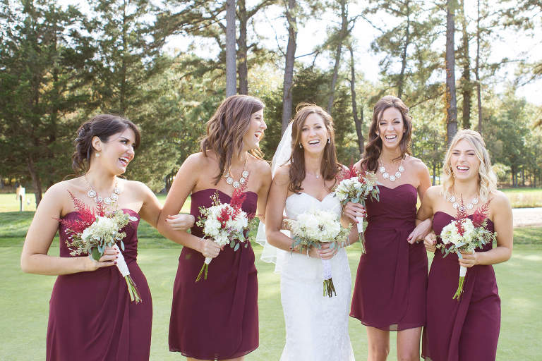 New Jersey Wedding Photographer - bridal party portrait