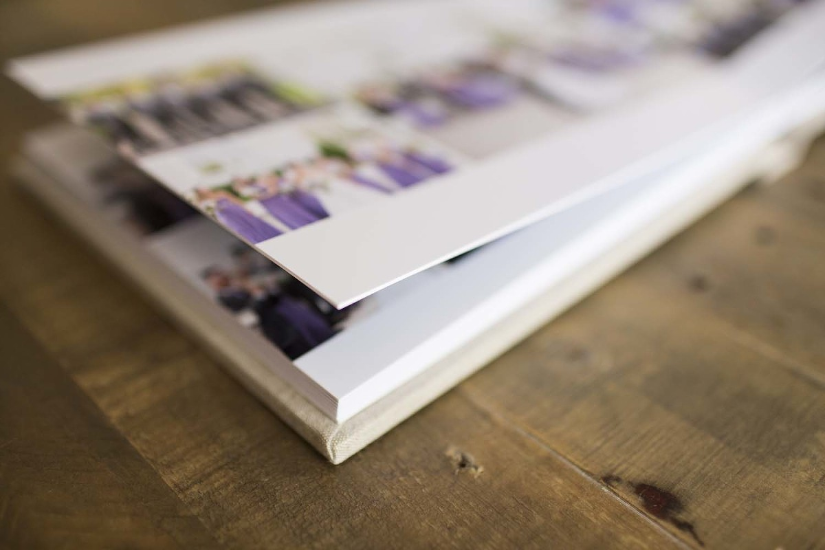 The professional flushmount albums offered by Susan Hennessey Photography
