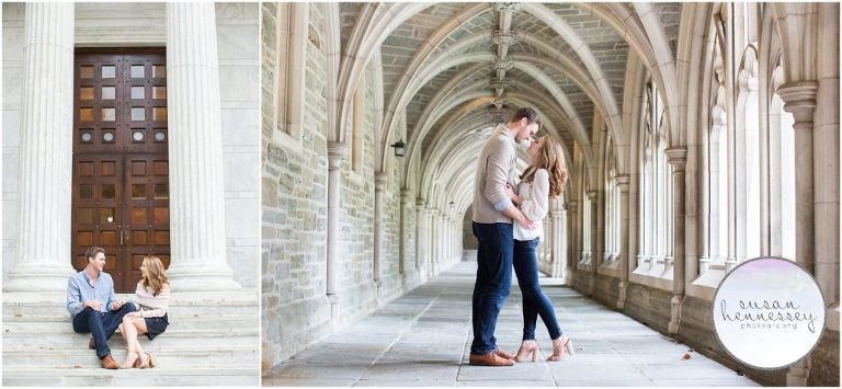 New Jersey Engagement Photographer - Princeton University Engagement Session