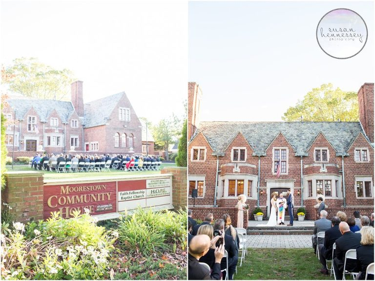 The Moorestown Community House is a historic wedding venue located in Moorestown, New Jersey