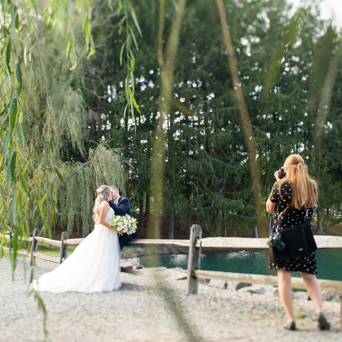 South Jersey Wedding Photographer Behind the Scenes Images