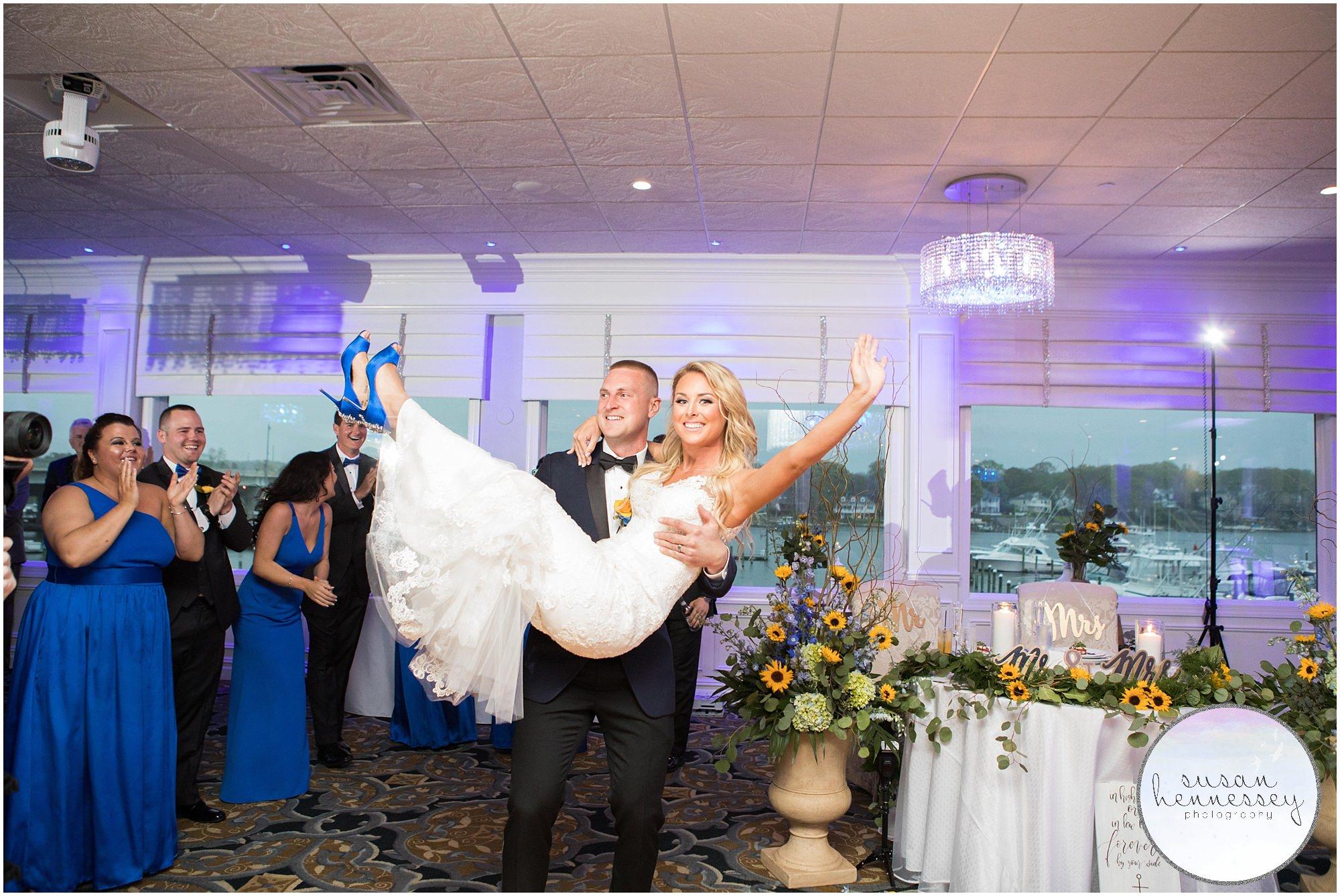 Crystal Point Yacht Club Wedding Susan Hennessey Photography 107