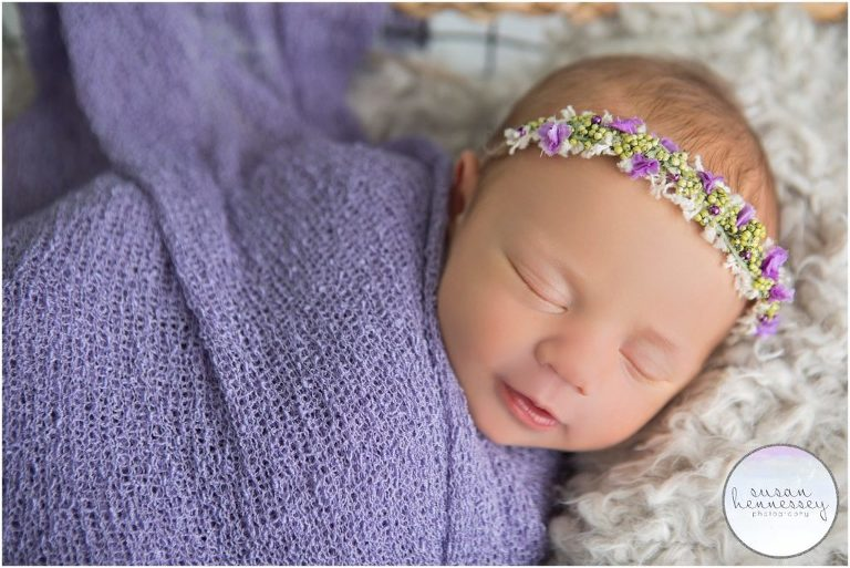 Newborn photography session in Moorestown, NJ