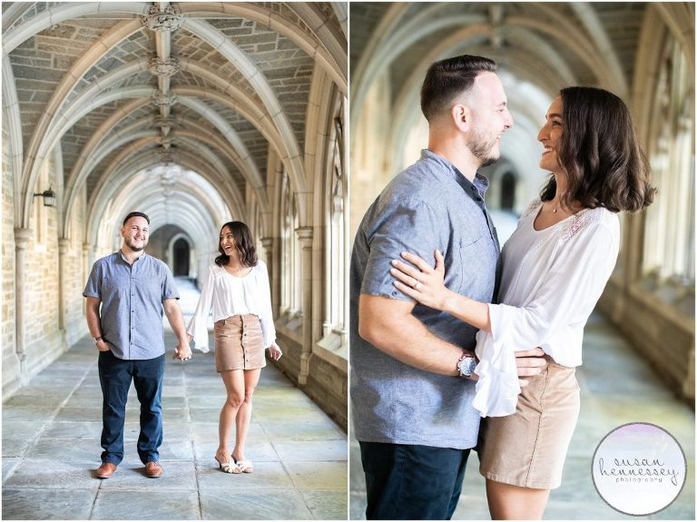 Summer Engagement Session at Princeton University