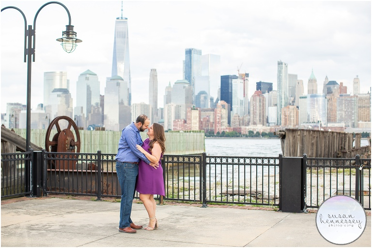 Jersey City Engagement Session
