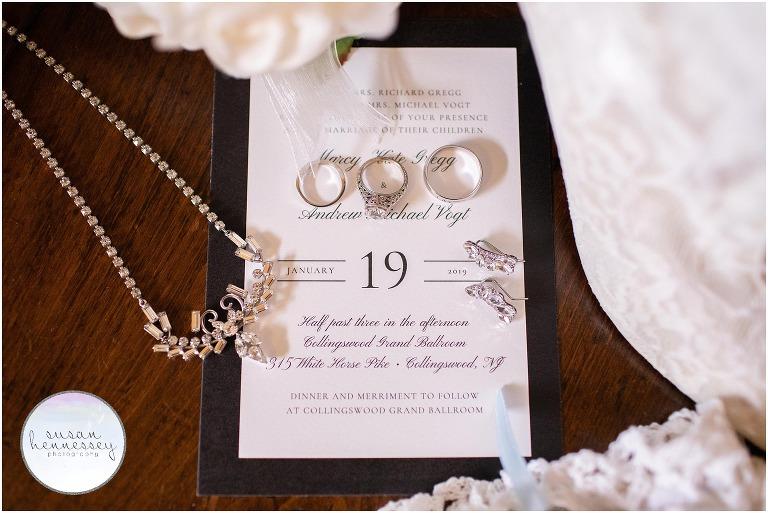 Collingswood Grand Ballroom Wedding | Marcy & Andrew