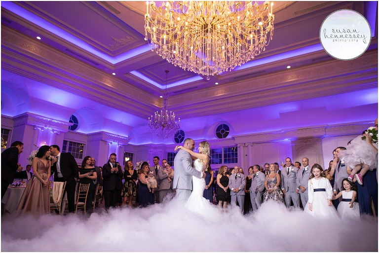 First dance in the clouds at Park Chateau