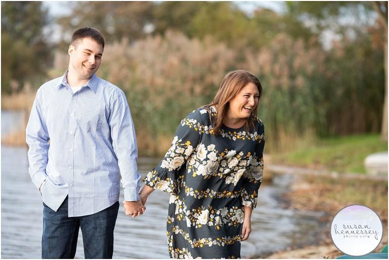 Marsh Creek State Park Engagement Session | Lauren & Joe