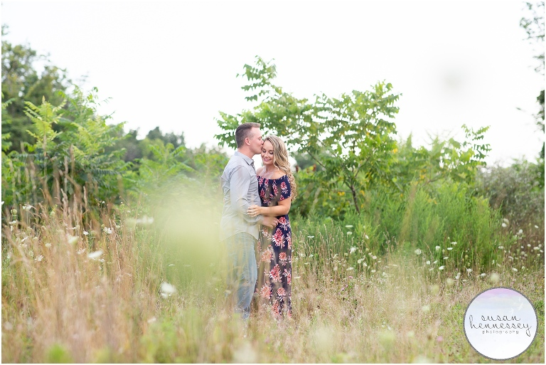 Rustic engagement session in Doylestown, PA