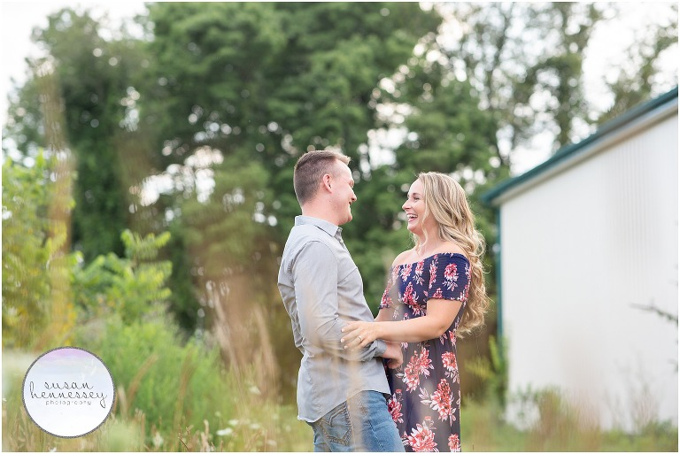 Engagement session in Doylestown, PA