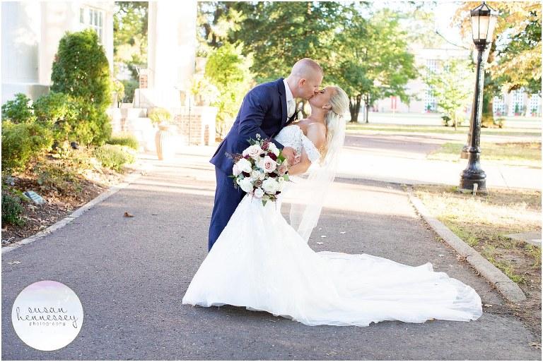 Fall wedding at the Collingswood Grand Ballroom