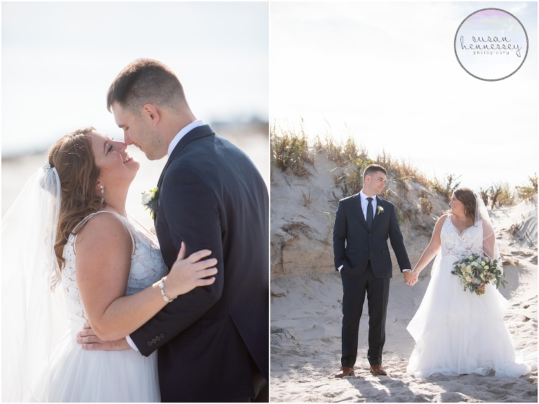 Rustic Beach wedding at the Windrift Hotel Resort