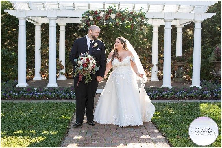 Fall Wedding at Bradford Estate