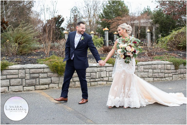 Fall Wedding at Scotland Run in Williamstown, NJ