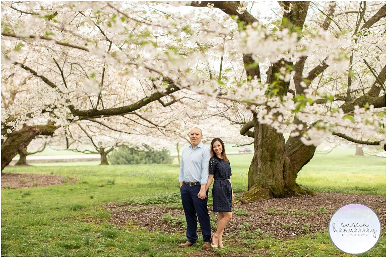 A Longwood Gardens Engagement Session
