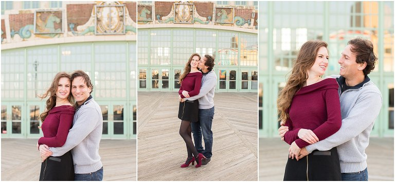New Jersey Engagement Photo Locations: Asbury Park