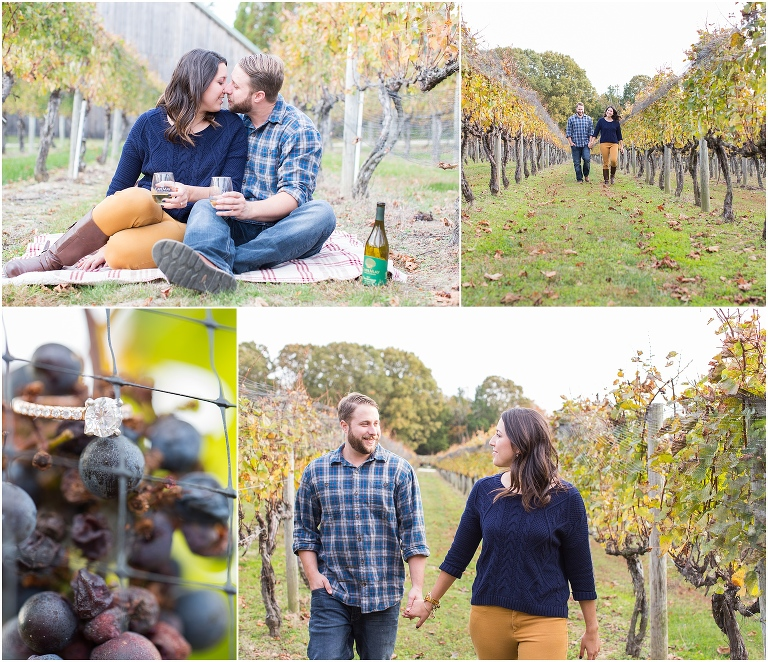 Cape May Winery engagement session