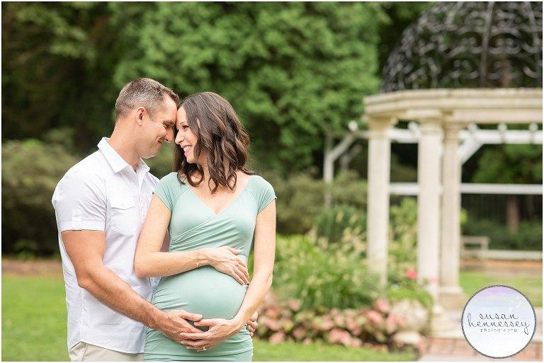 Sayen Gardens maternity session in Hamilton, NJ