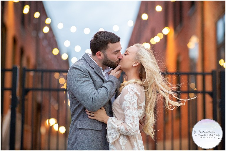 An engagement session in Philadelphia