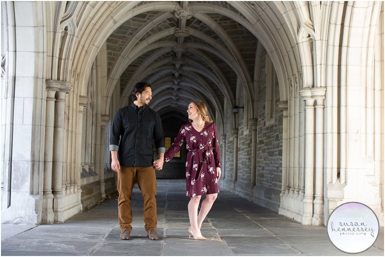 Princeton University Engagement Session at Holder Hall