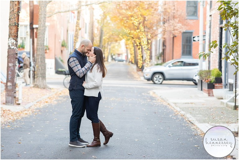 Philadelphia Engagement Photo Location - Addison Street