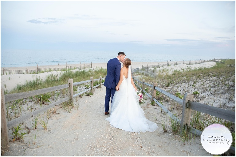 Nicole and Evan were married in LBI