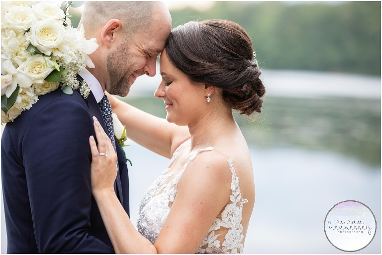 Backyard Wedding at Family Lake House in South Jersey | Kate & Brett