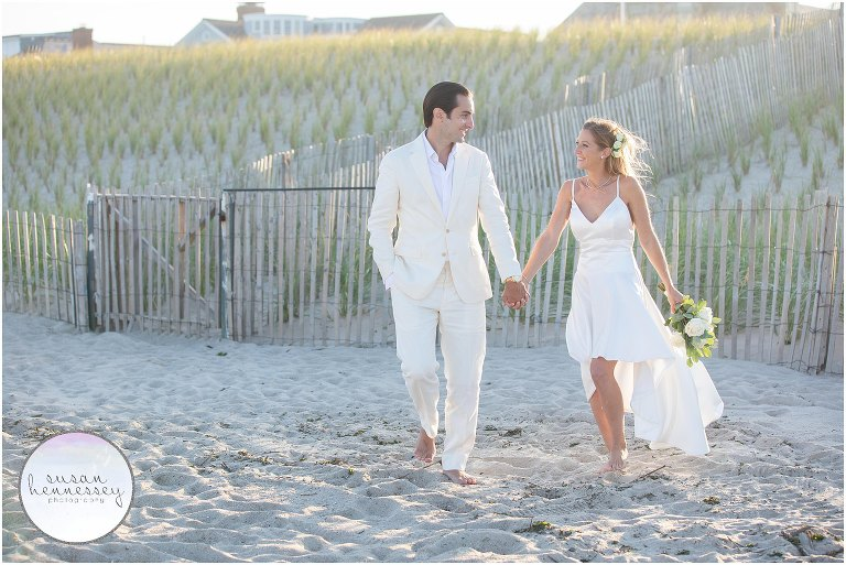 Luisa and Joe had a Jersey Shore microwedding in Bay Head, NJ