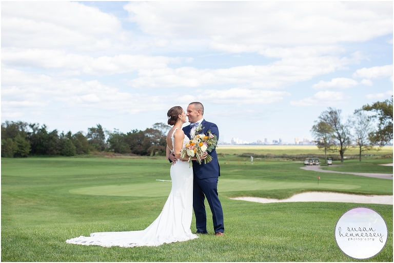 Outdoor Wedding at Atlantic City Country Club | Adelyn & Eric