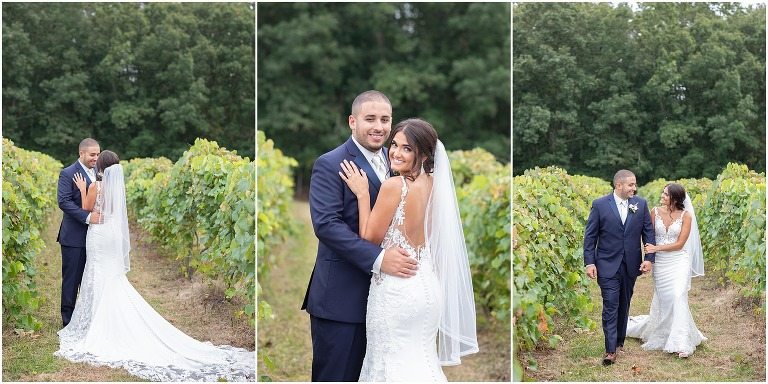 Coree and Stephen had a romantic and romantic Renault Winery wedding