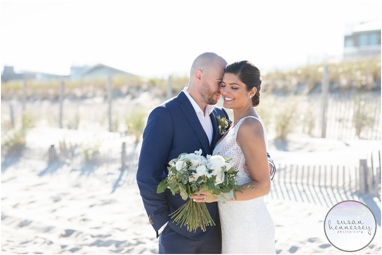 Erica and Joe had a Long Beach Island Microwedding