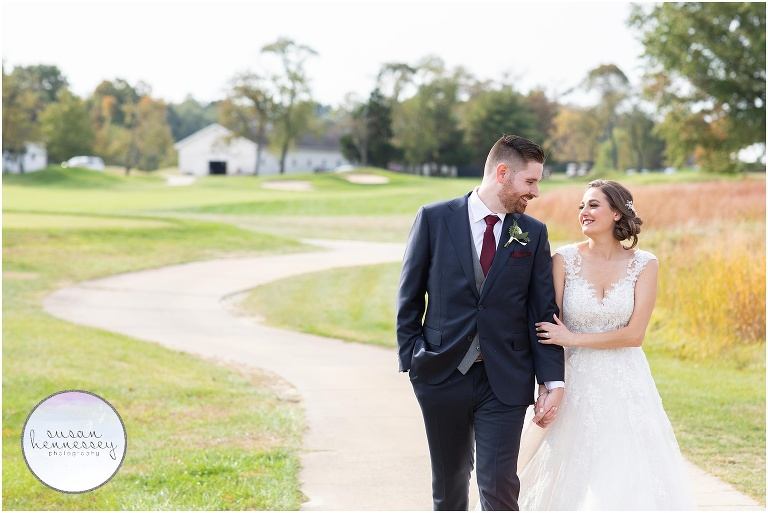 Fall Wedding at Old York Country Club in Chesterfield, NJ