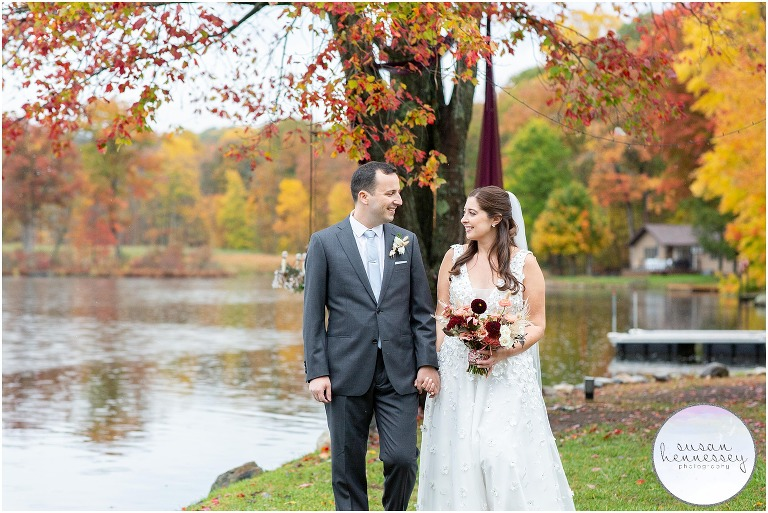 An intimate Andre's Lakeside Dining Microwedding