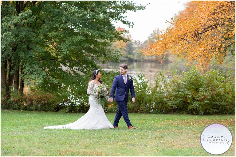 Fiza and Thomas had a South Jersey Microwedding with portraits in Strawbridge Lake Park