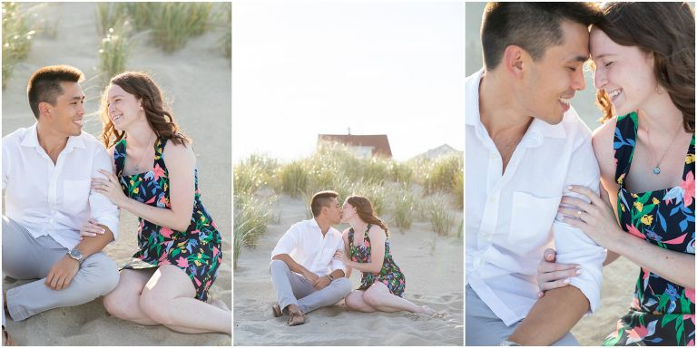 Bradley Beach Engagement Session on the Jersey Shore