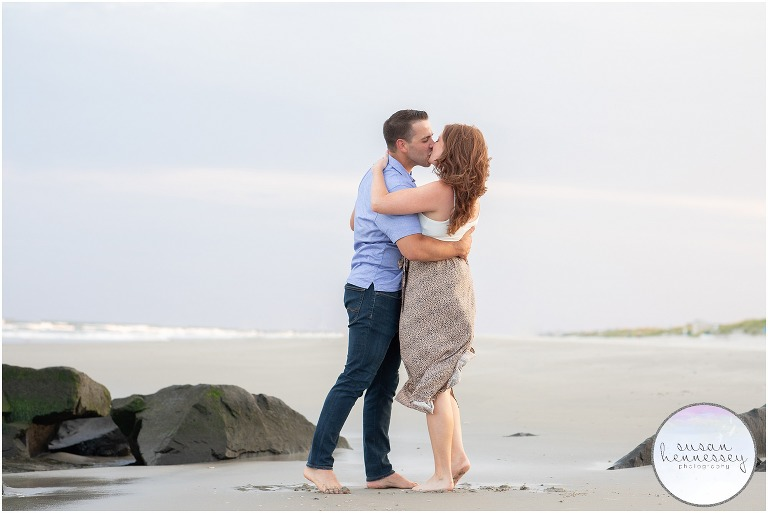 A surprise proposal at the Jersey Shore