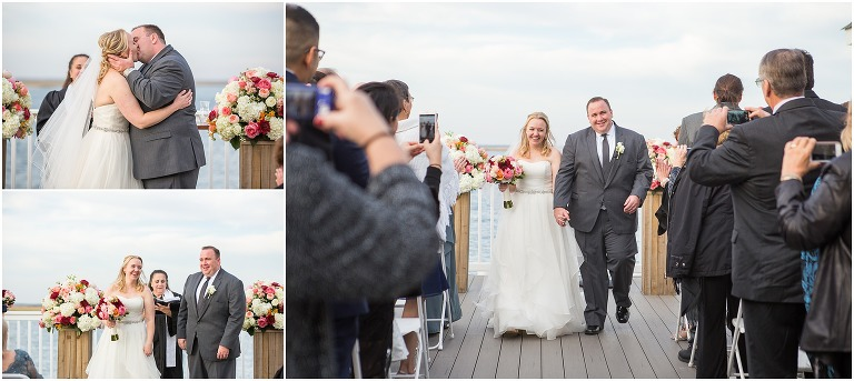 The Ceremony Site at the Avalon Yacht Club in Avalon, NJ