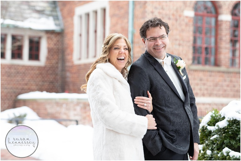 Winter Microwedding at Community House of Moorestown