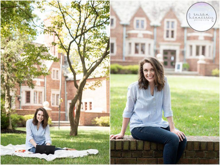 Moorestown Portrait Photographer | Morgan's Branding Session