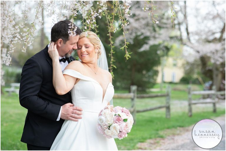 Are you planning a Micro Wedding? Erica and Alex's Spring wedding was filled with cherry blossoms.