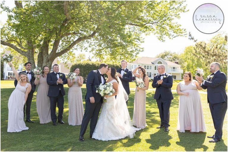 Bridal Party at Atlantic City Country Club Wedding